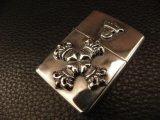 G Crown & 4heart Crown Cross On Zippo