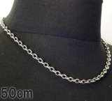 7Chain & Quarter T-bar Necklace