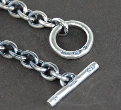 画像4: 7Chain & Half Classic T-bar Necklace
