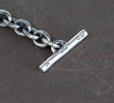 画像3: 7Chain & Half Classic T-bar Necklace