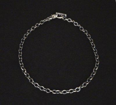 画像3: 7Chain with quarter panther & quarter T-bar necklace