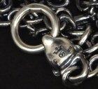 他の写真1: 7Chain with quarter panther & quarter T-bar necklace