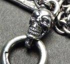 他の写真2: 3.9Chain with 1/8 skull & 1/16 Classic T-bar Necklace