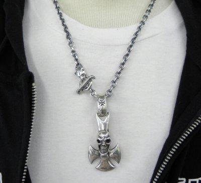 画像4: 6Chain with 1/8 Panther & 1/8 T-bar Necklace