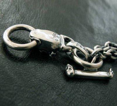 画像3: Half bulldog with O-ring & 7chain necklace