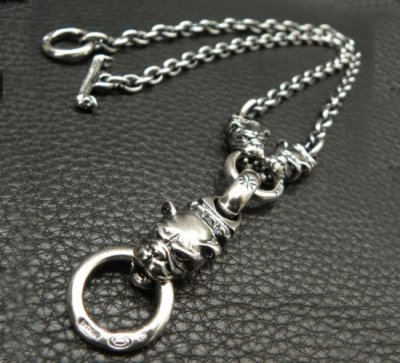 画像2: Half Old Bulldog & 2 Quarter Old Bulldog With 6 Chain Necklace