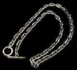 5.5mm Marine Chain & 1/8 T-bar Necklace