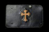 Stingray Cross Inlay Buffalo Long Wallet