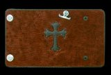 Frog Cross Inlay Hippo Long Wallet