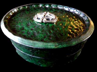 画像1: Gaboratory Leather Jewelry Box