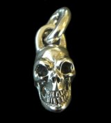 Single Slant Head Skull Pendant