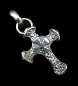 Half Hammer Cross With H.W.O Pendant