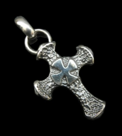 画像1: Half Hammer Cross With H.W.O Pendant