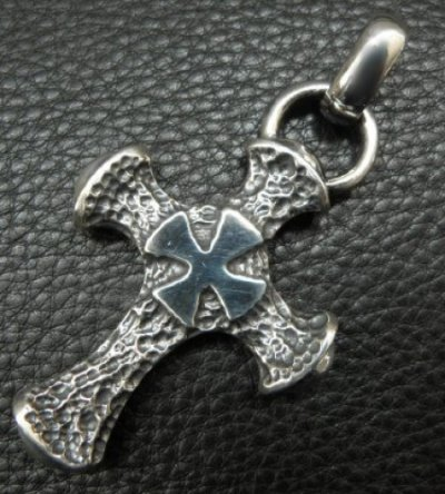 画像2: Half Hammer Cross With H.W.O Pendant