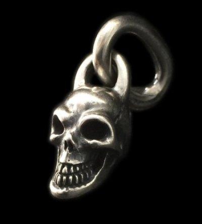 画像1: Single Skull With Long O-ring Pendant