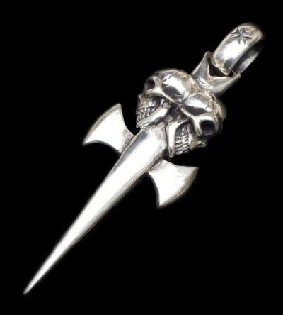 画像1: Double Skull Dagger & H.W.O Pendant