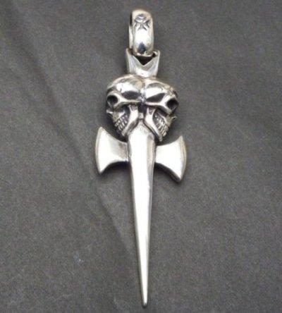 画像2: Double Skull Dagger & H.W.O Pendant