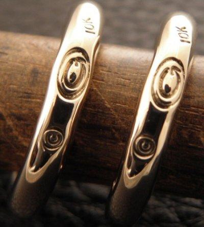 画像3: 10k Gold G-stamp Ring