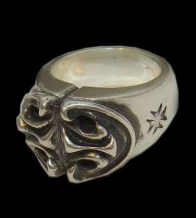 画像1: Sculpted Oval Ring