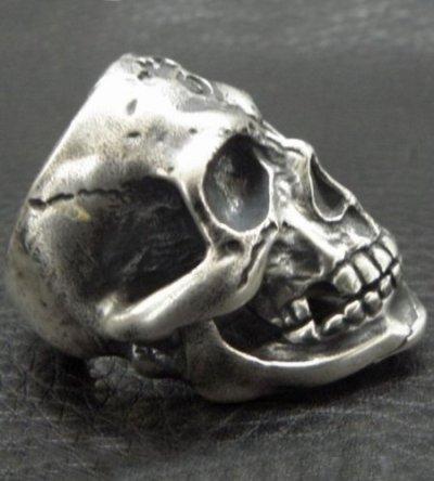画像2: Old Large Skull Ring
