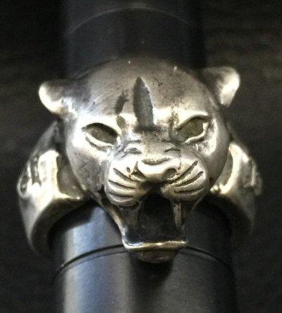 画像2: Long Neck Panther Ring