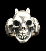 Single Devil Skull Ring