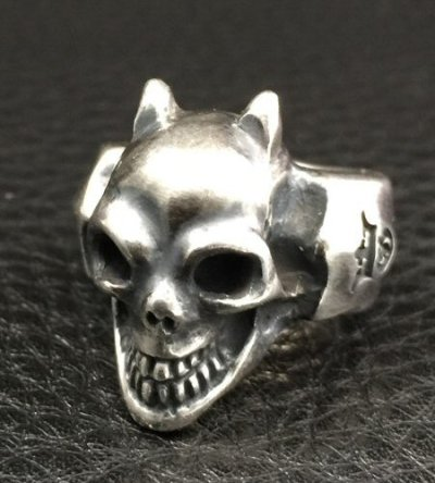 画像2: Single Devil Skull Ring
