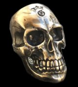 Large Skull Ring with Jaw 3rd generation