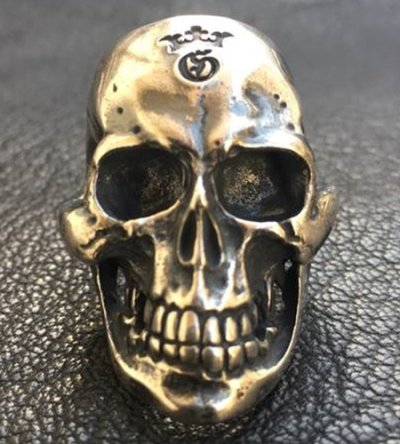 画像2: Large Skull Ring with Jaw 3rd generation