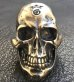 画像2: Large Skull Ring with Jaw 3rd generation (2)