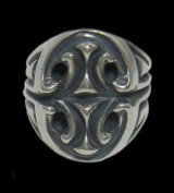 Sculpted Oval Signet Ring