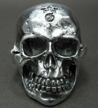 画像2: Large Skull Ring with Jaw 2nd generation