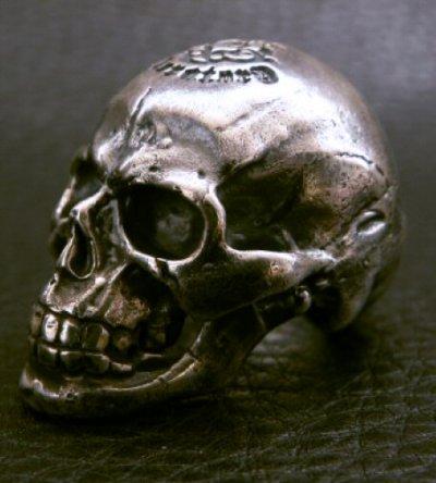 画像2: Medium Large Skull Full Head Ring