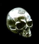 Medium Large Skull Full Head Ring Without Jaw