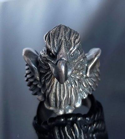 画像1: Half Eagle With Wing Ring