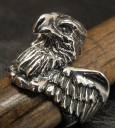 画像2: Half Eagle With Wing Ring