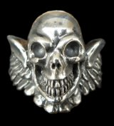 Wing Skull Ring