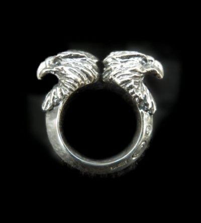 画像1: Quarter Eagle With Half Triangle Wire Ring