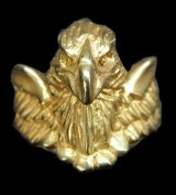 Gold Half Eagle With Wing Ring