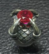 7.45Ct Rubi Medium Iron Claw Ring