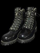 Bulldog Zipper Pull Fireman Boots.