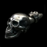 Old Large Skull Ideal Smoke Pipe