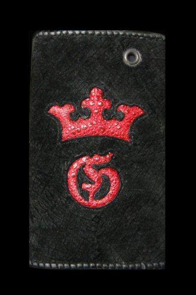 画像2: Frog Traditional G&Crown Inlay Hippo Long Wallet