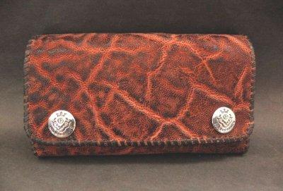 画像2: Elephant Long Wallet (Bark Vintage)
