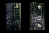 Crocodile Horn Back Long Wallet