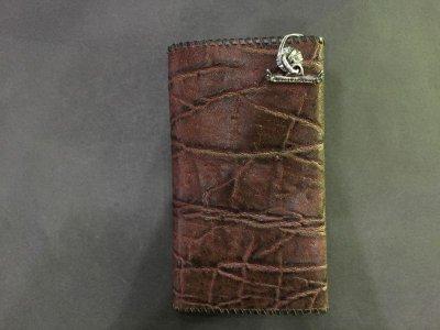 画像3: Elephant Long Wallet (Bark Vintage)