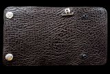 Shark Plain Long Wallet (Chocolate)
