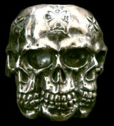 Xconz collaboration 4 Face Skull Ring