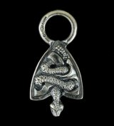 Medium Snake Belt Tip Pendant