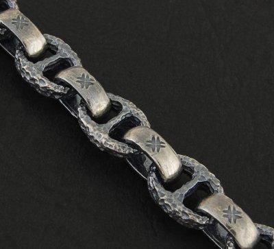 画像3: Half H.W.O & Chiseled Anchor Links Necklace